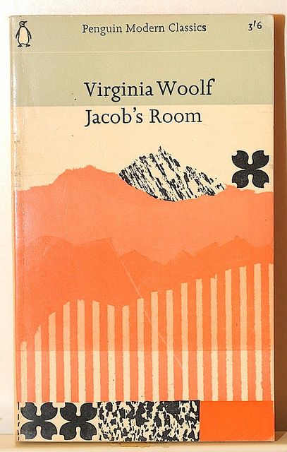 Modern Book Cover History : Virginia woolf jacob s room →books and covers