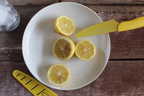 A Knife Made for Sparkling Lemonade #sparklinglemonade