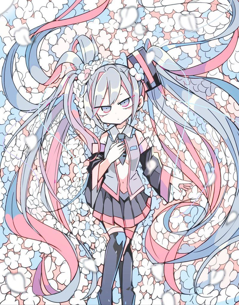 Pin By 紅月 On Vocaloid Hatsune Miku Miku Vocaloid