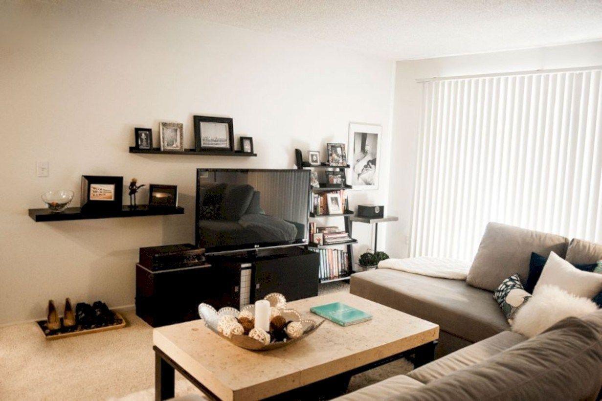 Amazing Studio Apartment Decorating Ideas 33 Small Apartment