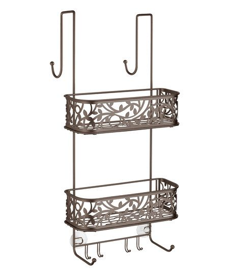 Bronze Vine Over-the-Door Shower Caddy | zulily | Organization ...