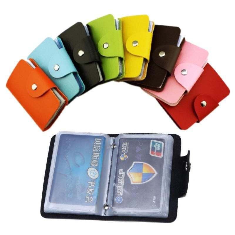 24 card slots 2sided plastic card holder size small multicolor 24 card slots 2sided plastic card holder size small multicolor business card us 008 reheart Choice Image