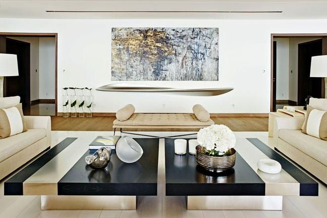 Style Tips From Kelly Hoppen Home Design Living Room Luxury