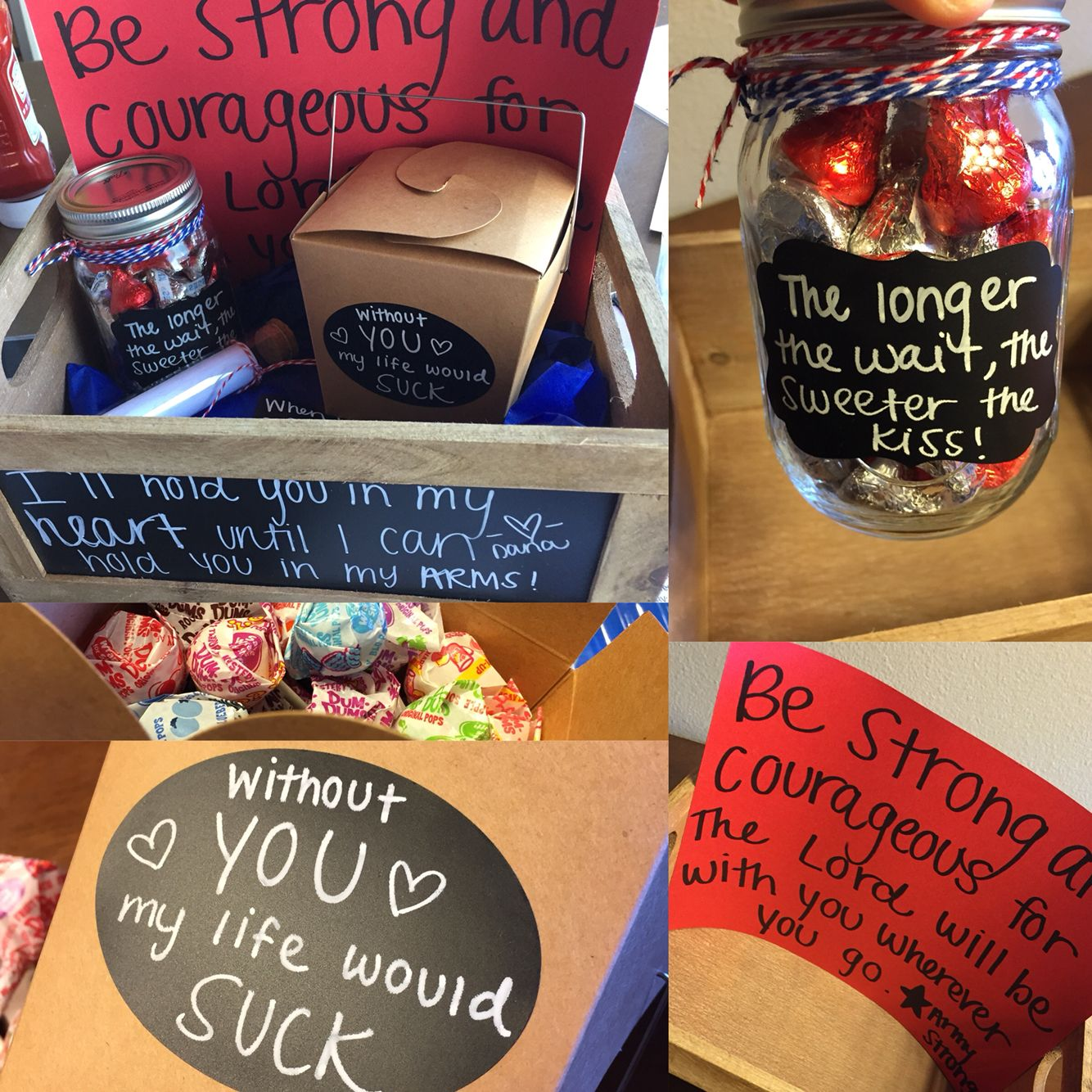 Perfect Going Away Gift For Your Soldier Sweet, Thoughtful, And Will Remind Him How -9234