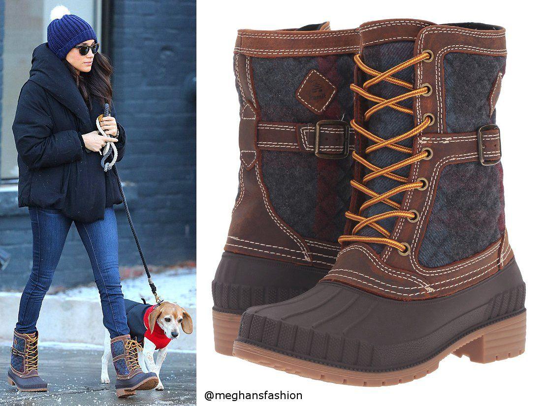 Kamik Sienna boots aso Meghan Markle Vinterstøvler antrekk  Winter boots outfits
