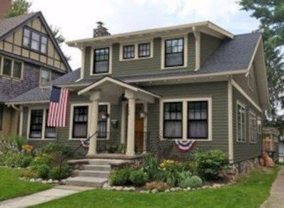 34 Best Exterior House Paint Color Combinations - rengusuk.com #greyexteriorhousecolors Best Exterior House Paint Color Combinations 12 #greyexteriorhousecolors