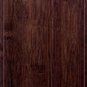 Home Legend Horizontal Hand Scraped Cafe 3 8 In Thickx4 3 4 In Wide X 47 1 4 In Length Click Lock Bamboo Fl Bamboo Flooring Flooring Engineered Bamboo Flooring