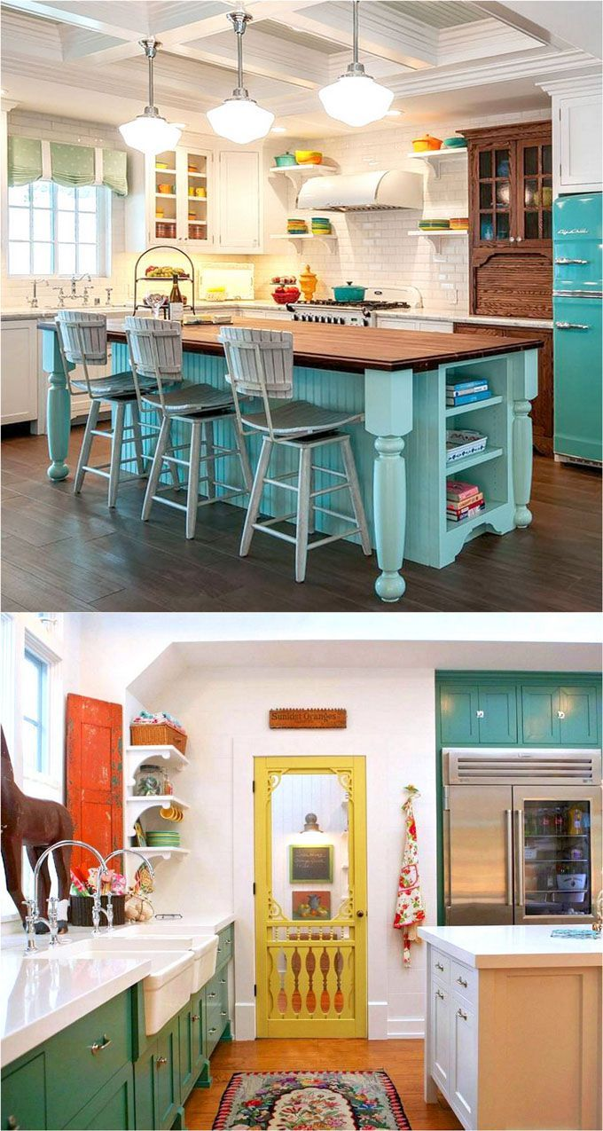 Etonnant 25 Gorgeous Paint Colors For Kitchen Cabinets (and Beyond)   A Piece Of  Rainbow