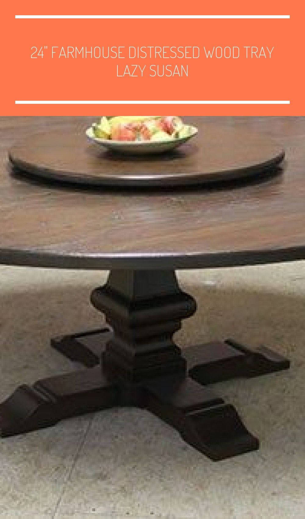 When Dining At A Restaurant Offering Chinese Food Naturally You Are Round Board In The C Square Farmhouse Table Farmhouse Table Centerpieces Table Centerpieces
