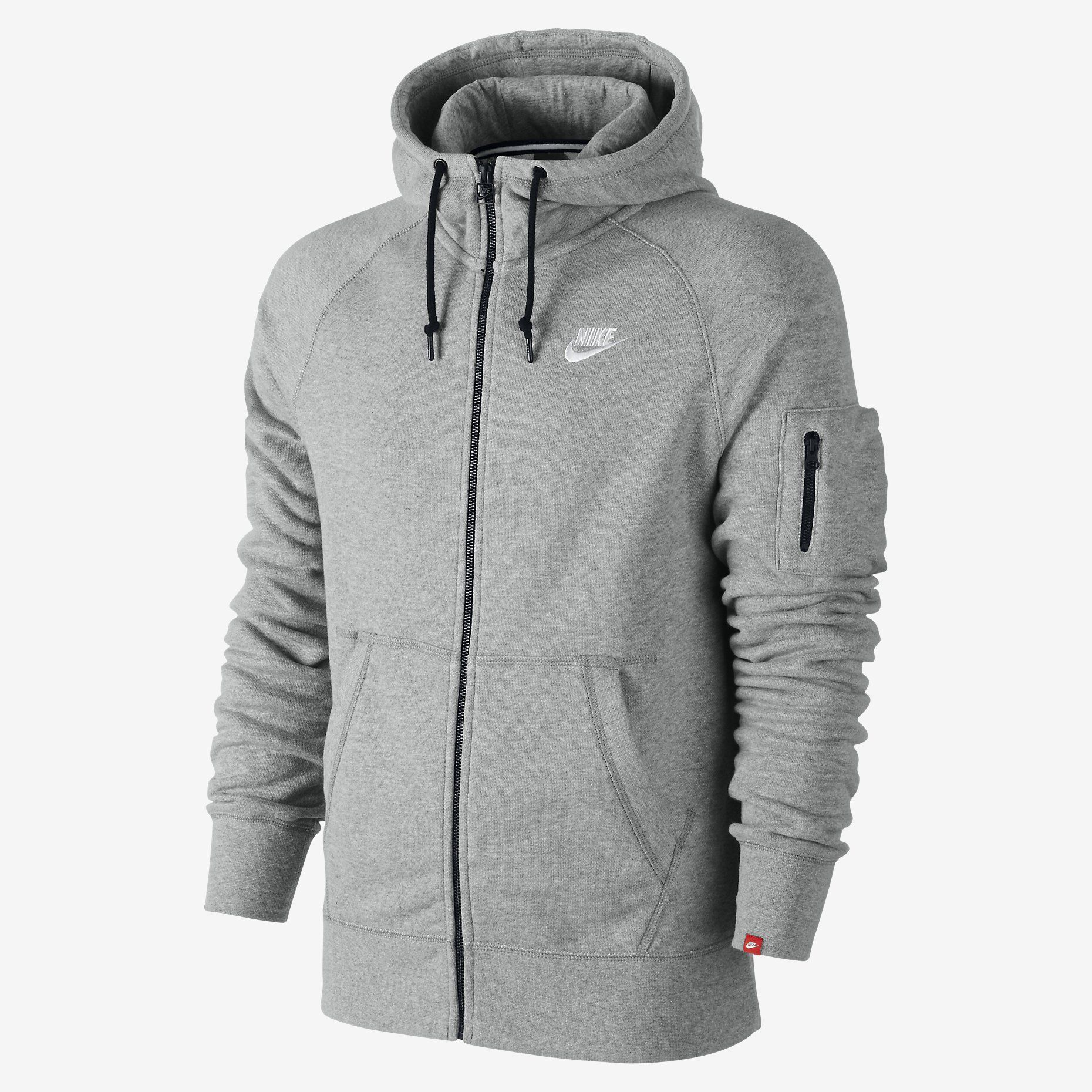 Nike AW77 Intentional Men's Full Zip Hoodie. Nike Store IE