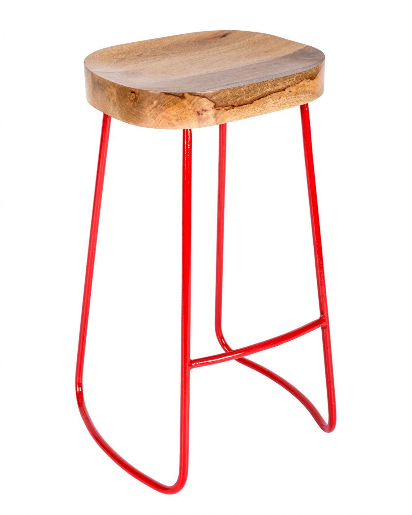 20 Red Industrial Bar Stools Vintage Modern Furniture Check