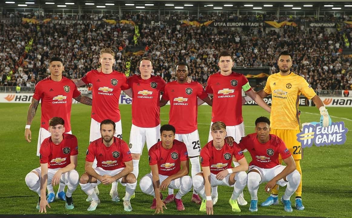 ปักพินโดย Red Devils ใน Manchester United Team
