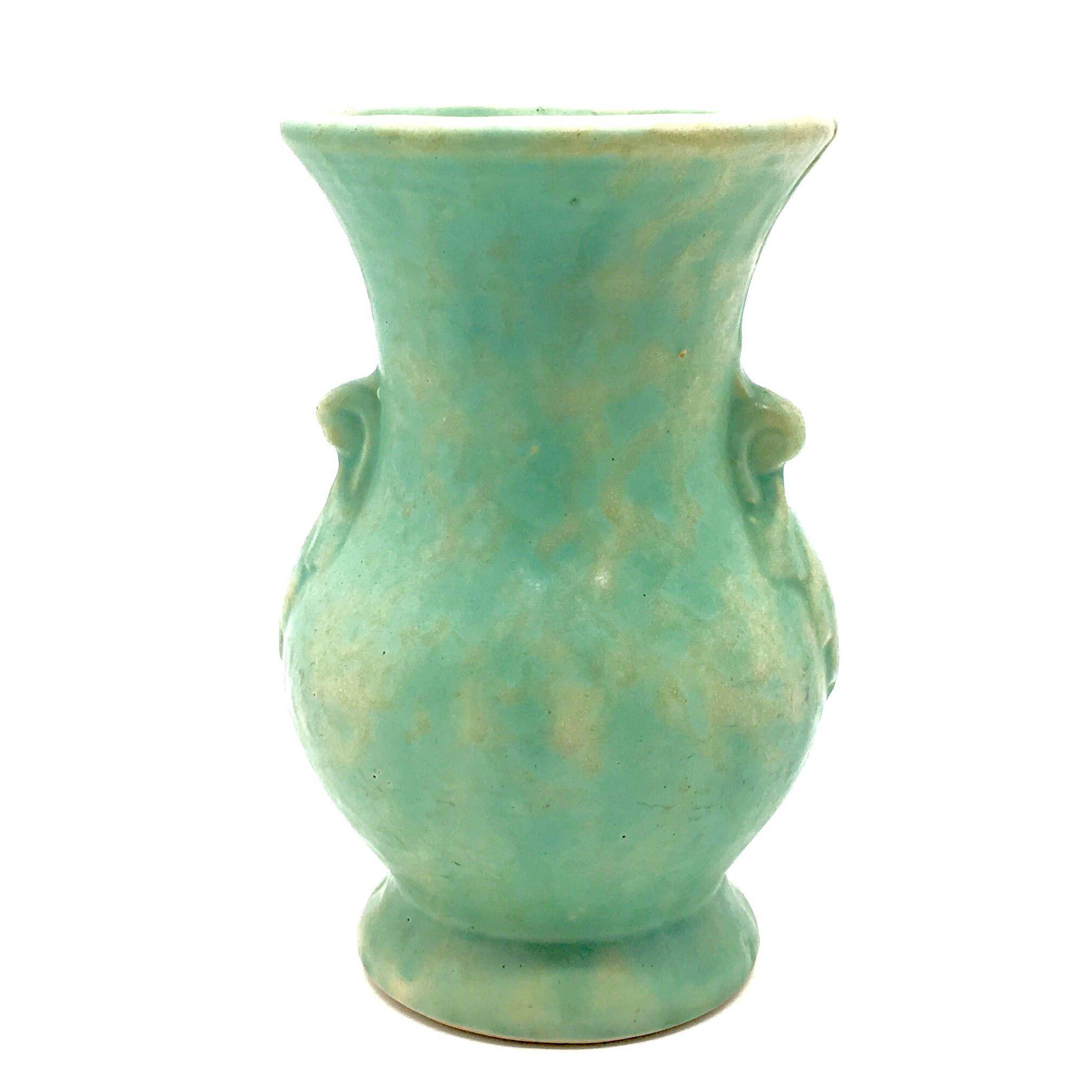 Vintage McCoy Soft Pastel Green Vase