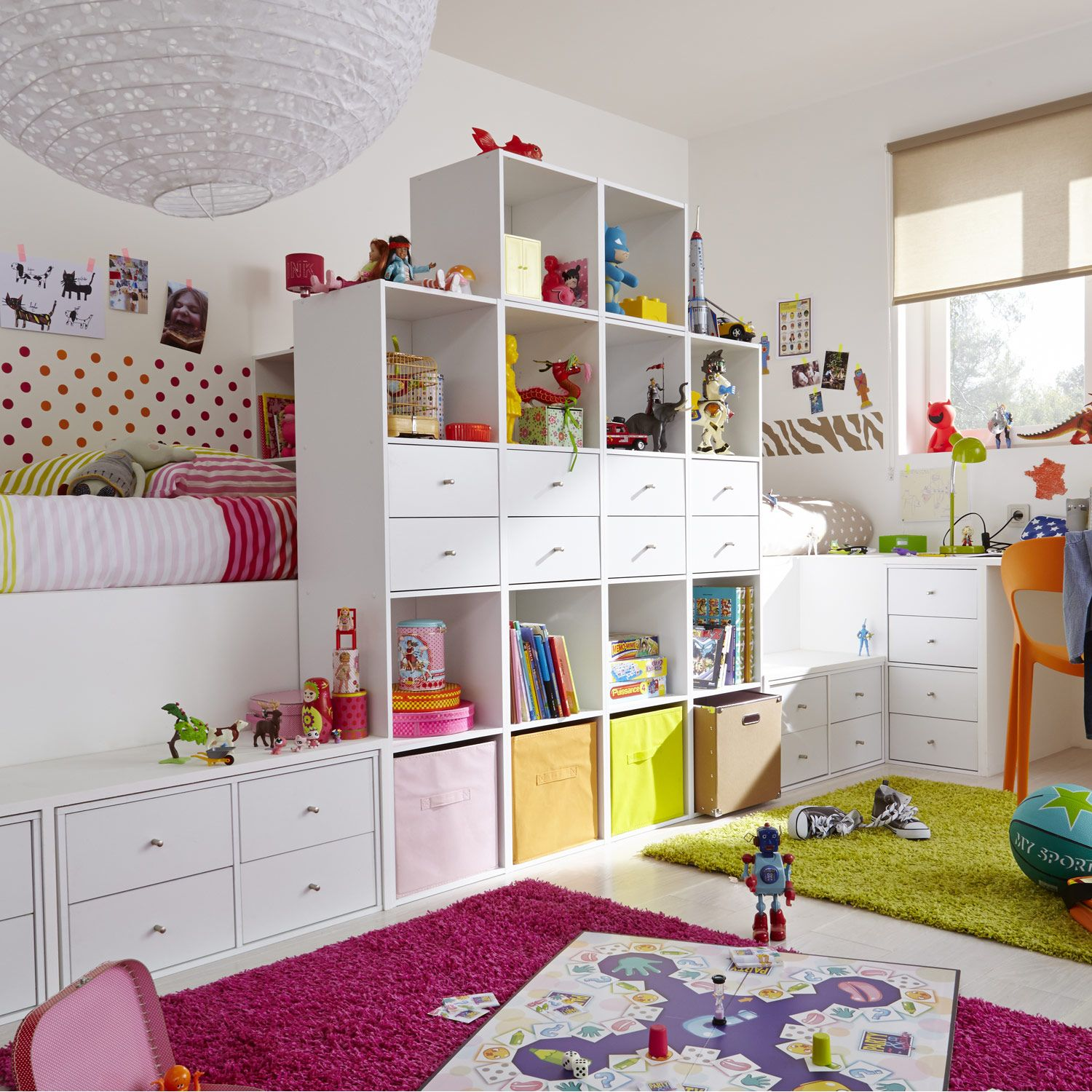 Am nagement d coratif multikaz 32 chambre d 39 enfant leroy for Pinterest deco chambre