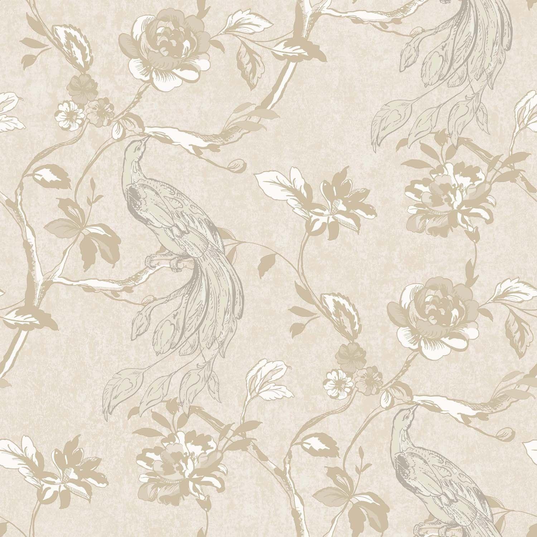 Galerie Heritage Opulence Wallpaper, Cream/gold Textured