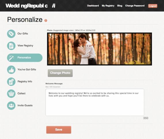 Online Wedding Gift Registry Wedding Republic Emmaline Bride Online Wedding Registry Online Wedding Gifts Best Wedding Registry
