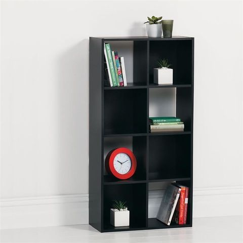 Storage Unit 8 Cube - Black... Perfect for wall storage/display nicknacks & Storage Unit 8 Cube - Black... Perfect for wall storage/display ...