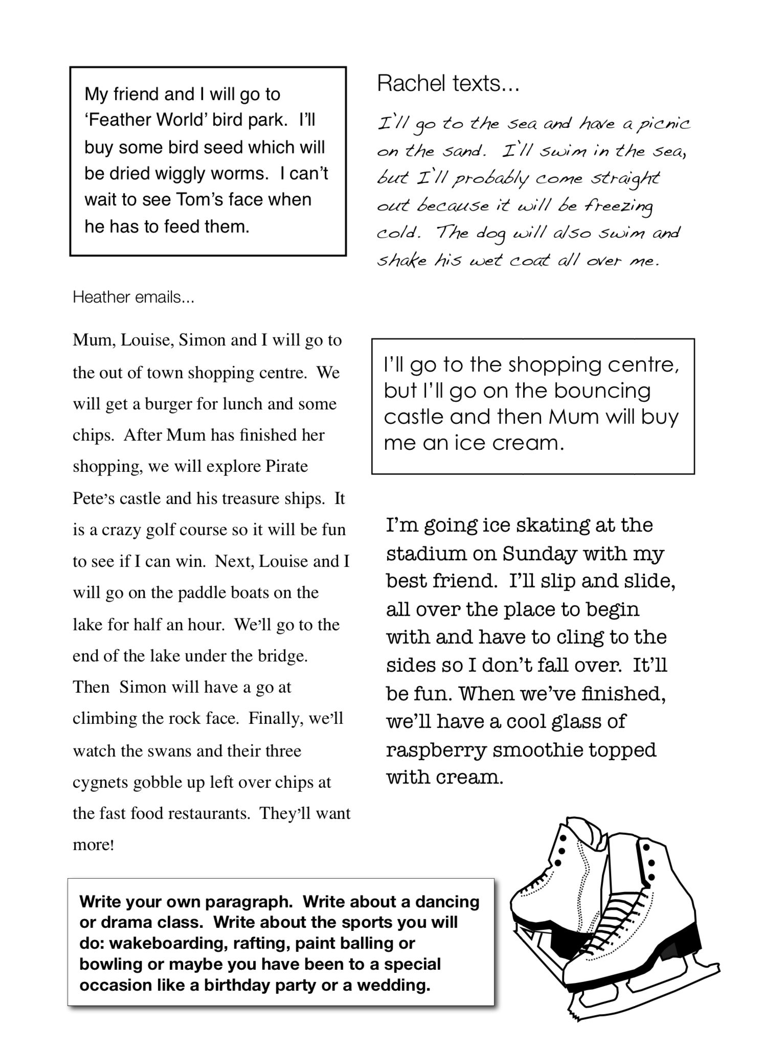 Sample Page All About Me Get Going With Creativewriting 7 12 Years Creative Writing Writing Practice All About Me [ 2048 x 1500 Pixel ]