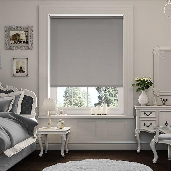 Blackout Bedroom Blinds sevilla tranquility dove blackout roller blind | window coverings