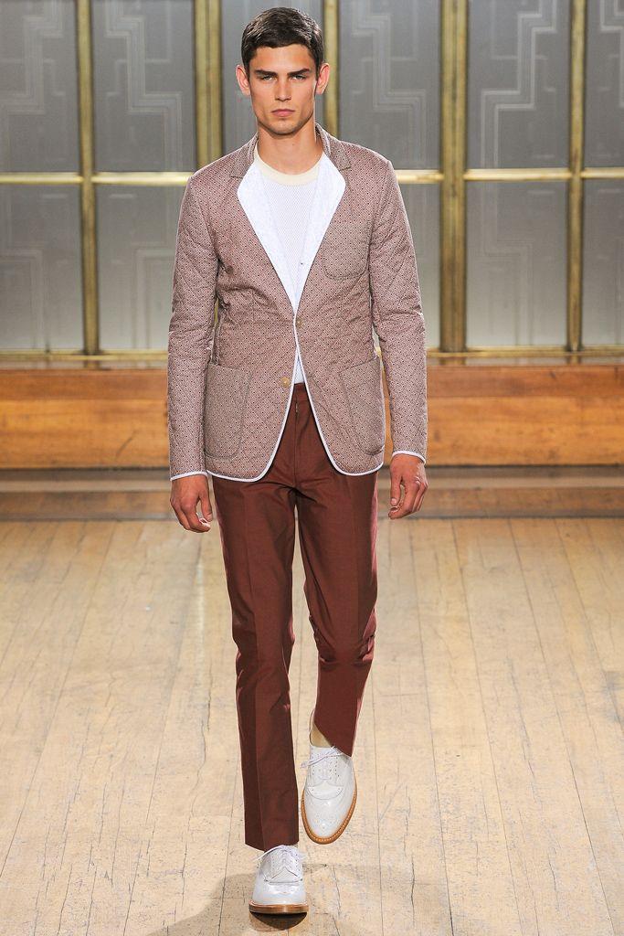 Spring 2013 Menswear  Nicole Farhi