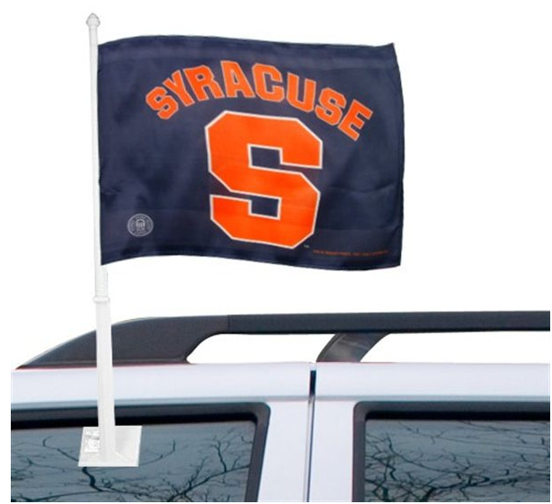 Syracuse Orange 11 X 15 Navy Blue Car Flag All Things
