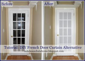 Pin By Tiffany Bowie On To Make French Door Coverings Door Curtains Diy Door Coverings