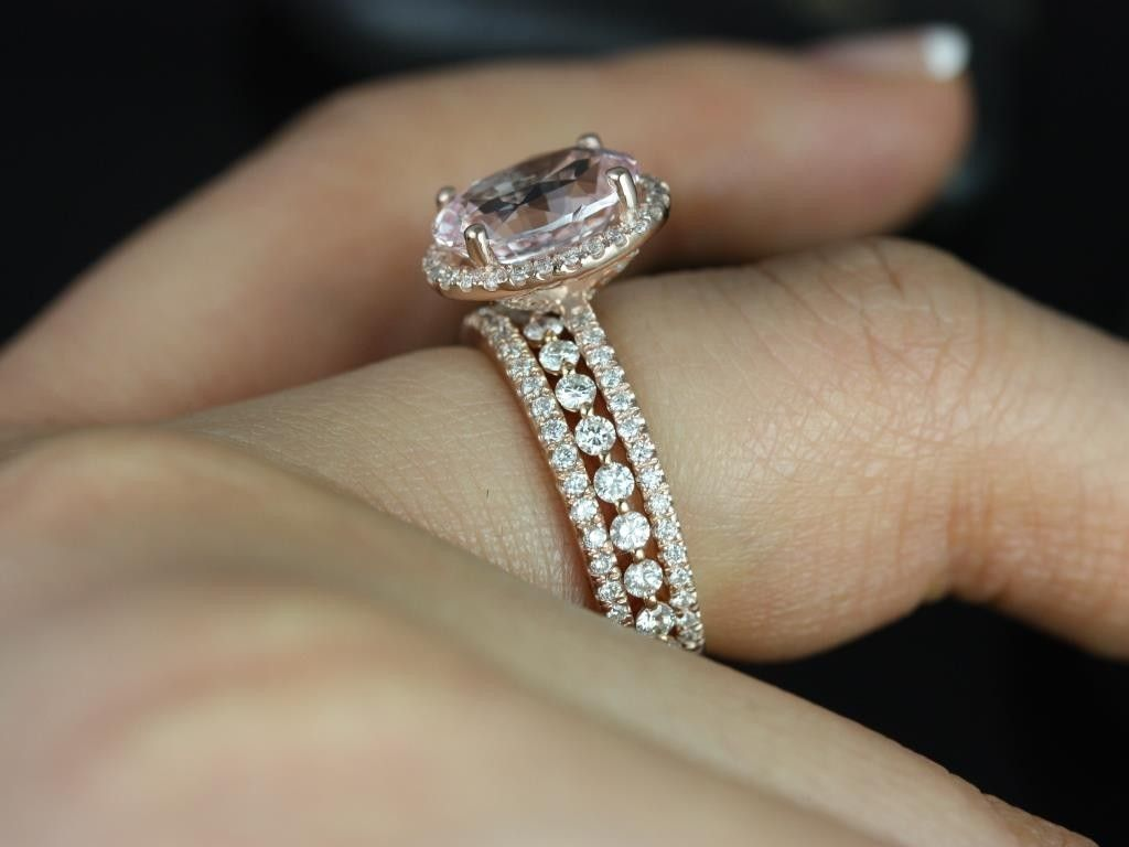 Cushion Cut Champagne Shire I Think Found The Ring Wedding Band And A Third For My Husband