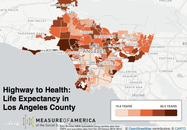 L A County Residents Live An Average Of 82 1 Years Longer Than The Average American But That Longevity Isn T Shared Equally Life La Life Azusa