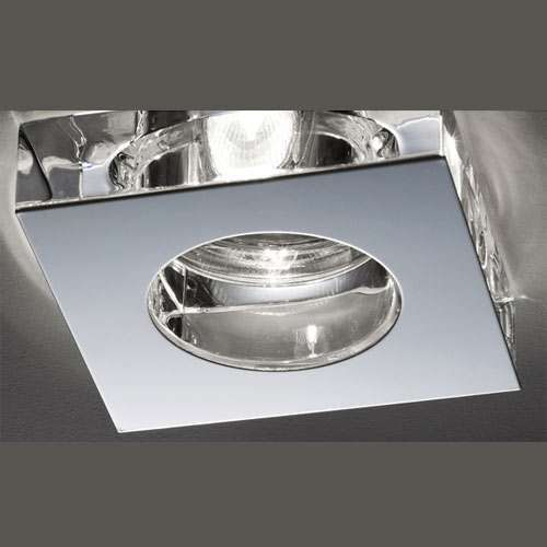 Fabbian lui steel and crystal led recessed lighting kit aloadofball Images