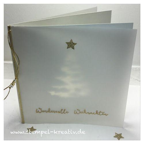stempel kreativ karten gestalten ein tannenbaum weihnachtskarten pinterest. Black Bedroom Furniture Sets. Home Design Ideas