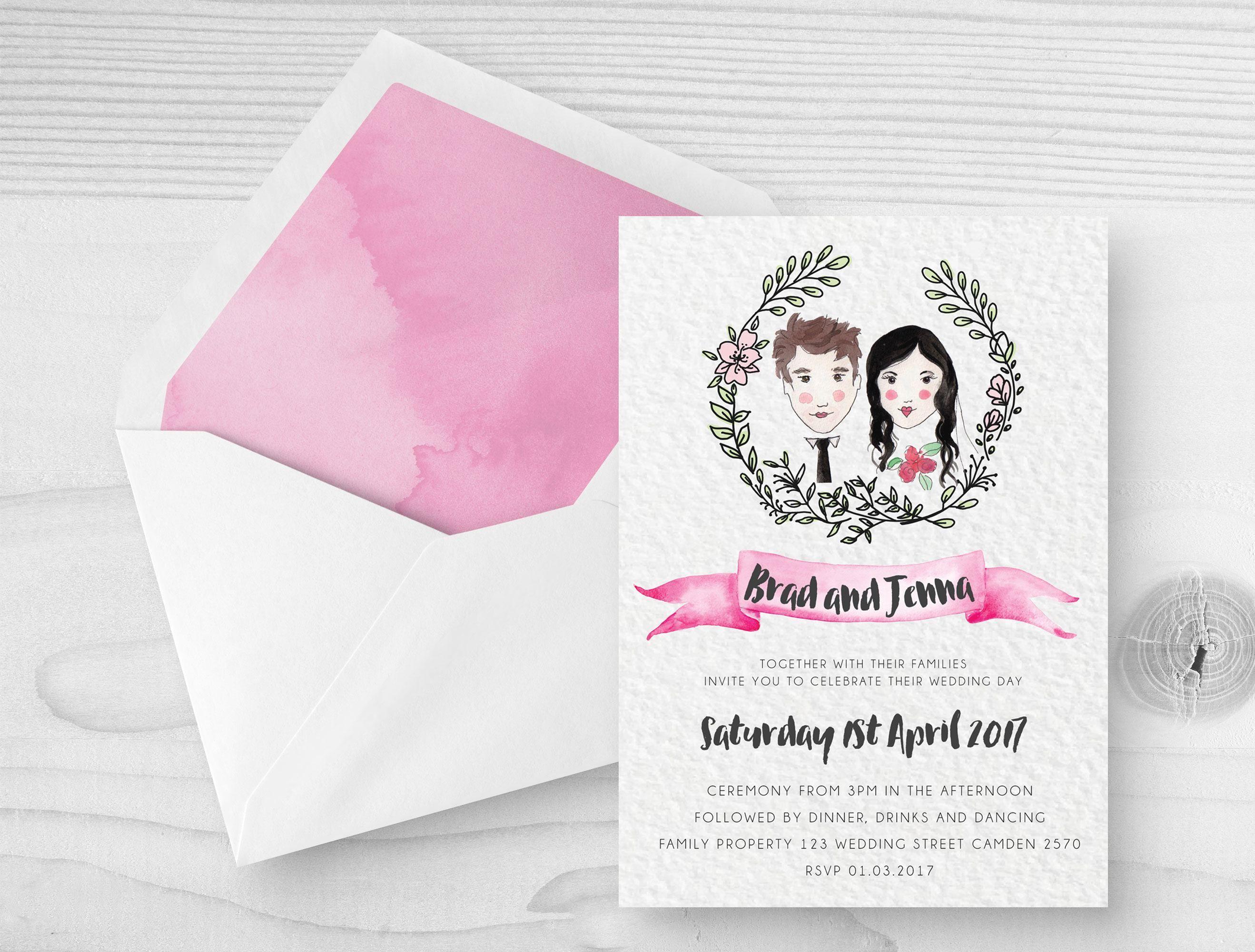 Wedding Invitation Card Stock Blank Wedding Invitation Card