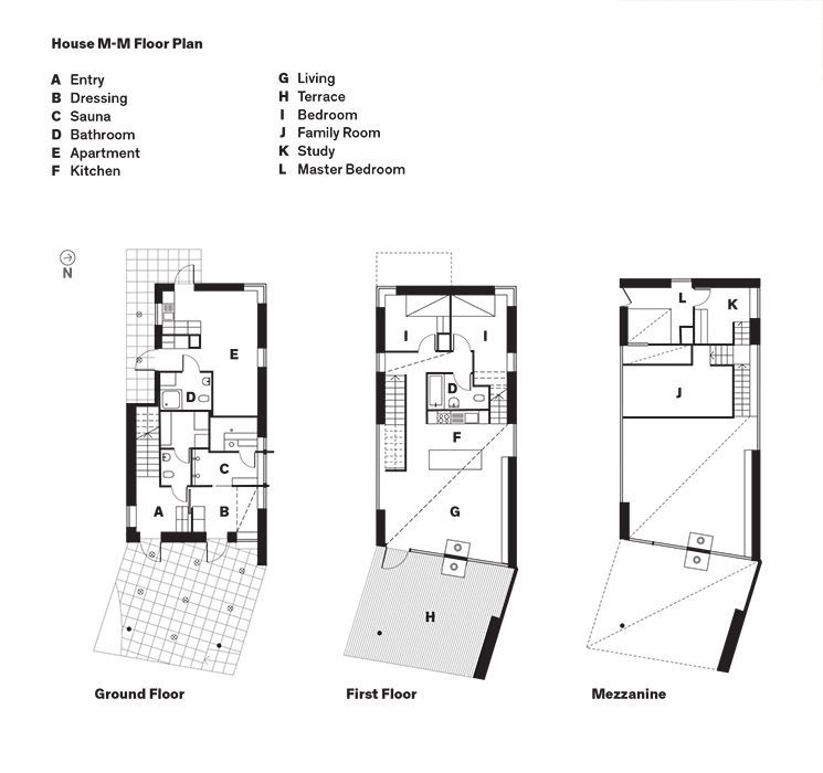 Modern home in finland with sauna floor plans floor for Sauna design plans