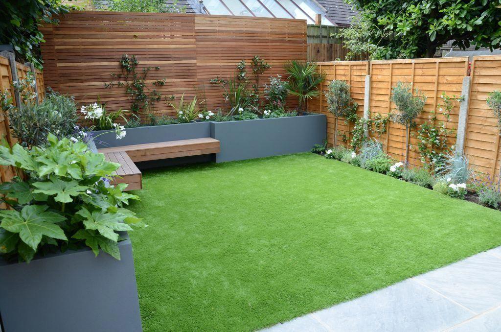 Back Garden Idea | Back garden design, Small backyard ...
