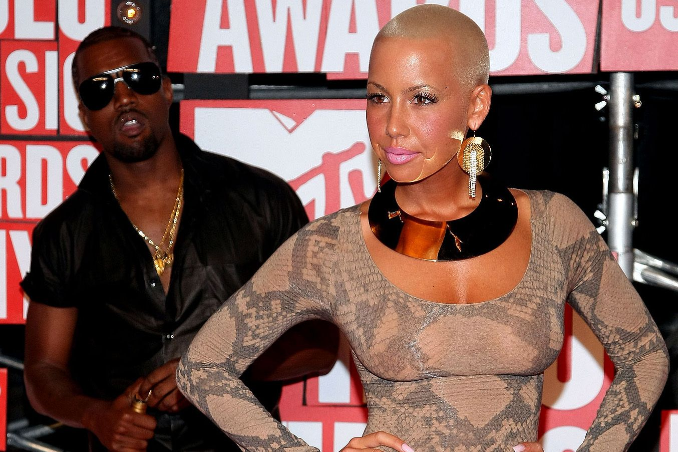 Amber Rose Says Kanye West Doesn T Write His Own Songs Kanye West Amber Rose Amber Rose Kanye West