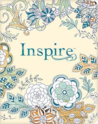 Inspire Bible NLT: The Bible for Creative Journaling (Inspire: Full Size): Tyndale, Christian Art: 9781496419842: Amazon.com: Books