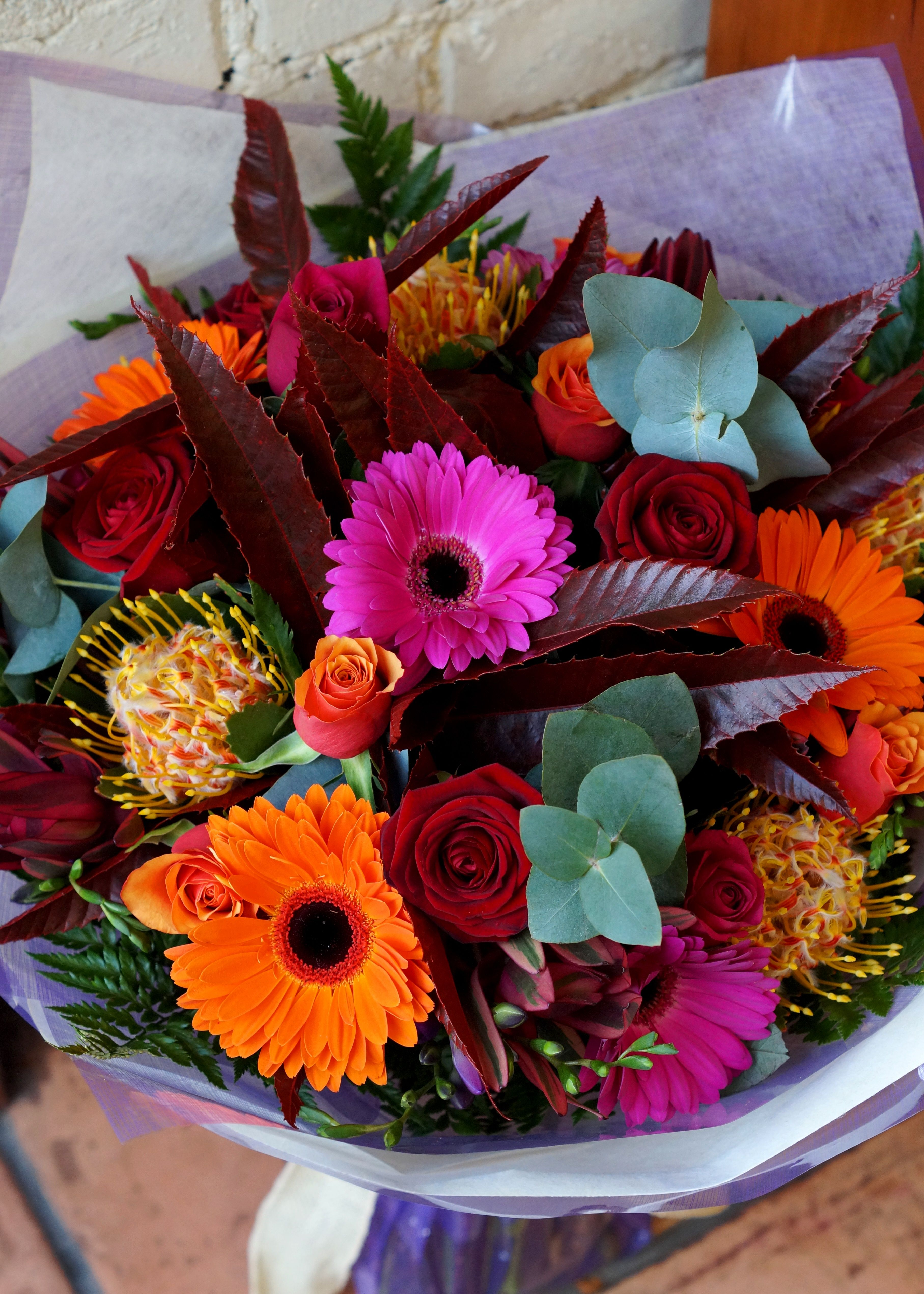 Beautiful Autumn Flower Bouquets Delivered In Belfast The Weather