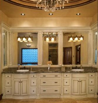 vanity master bath love this too - Bathroom Cabinets Kansas City