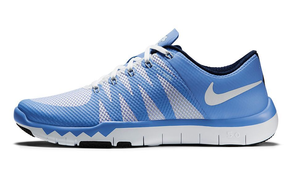 2148cd5184d Nike Free Trainer 5.0  UNC  Valor Blue College Navy White