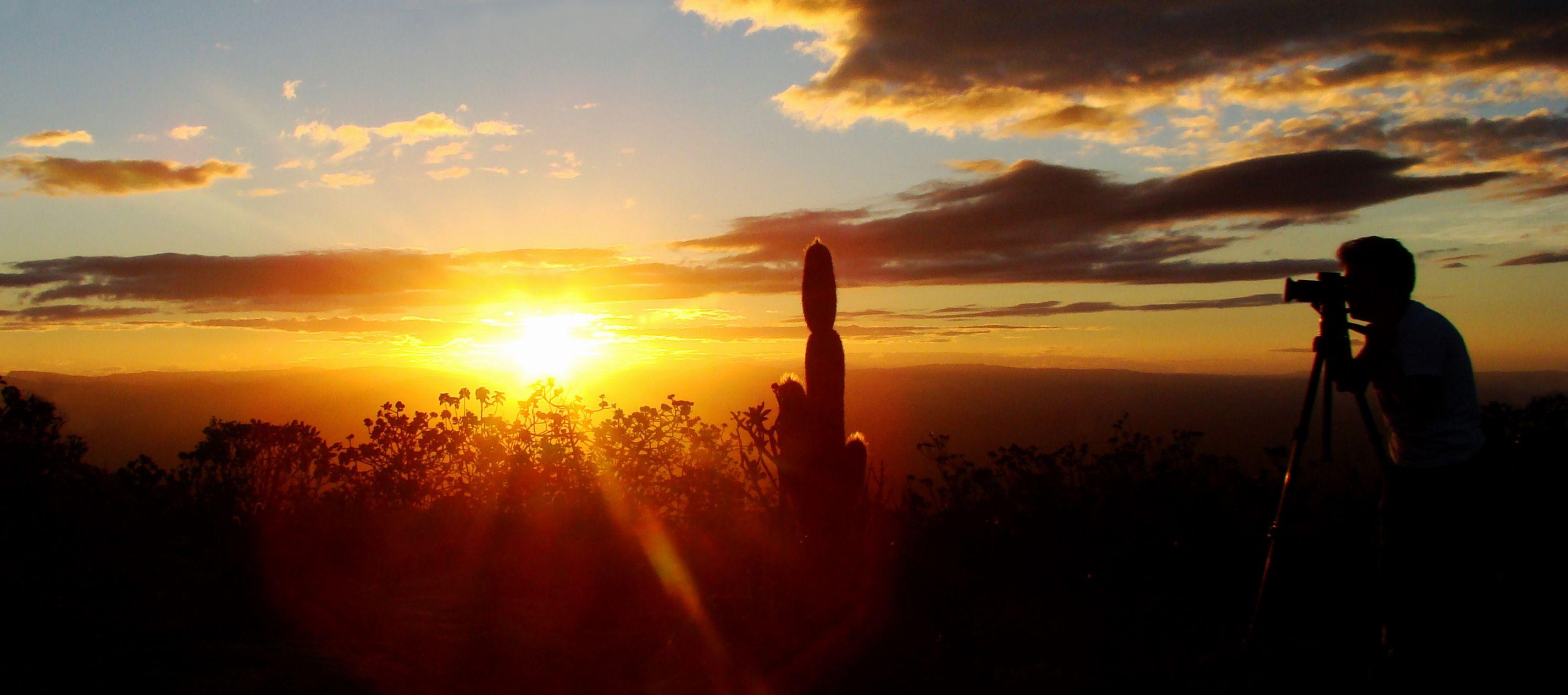Por do Sol na Chapada Diamantina - Bahia (Por Soraya)
