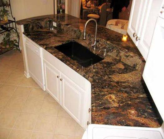 Sedna Granite Kitchen Designs Desert Dream Granite Kitchen Countertop Finished Installed
