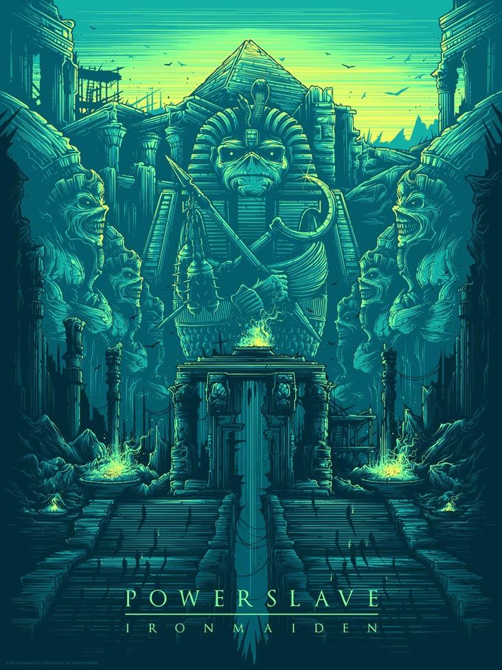 iron maiden concert posters - Google Search