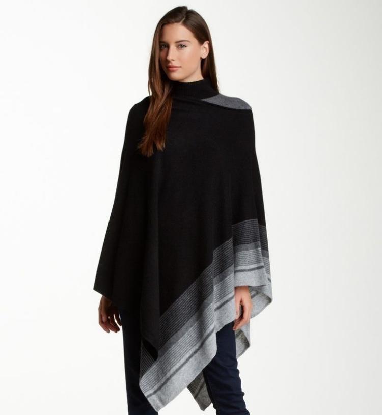 Poncho femme original en 55 designs automne   hiver 2015   Mode ... 66bc679f1c8