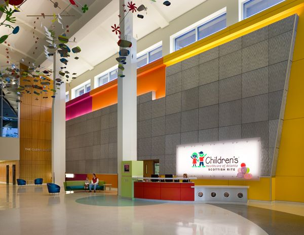 Childrenu0027s Healthcare Of Atlanta By Architect Stanley Beaman + Sears. Interior  Design Features And Color Palette By Tara Rae Hill, ASID, IIDA