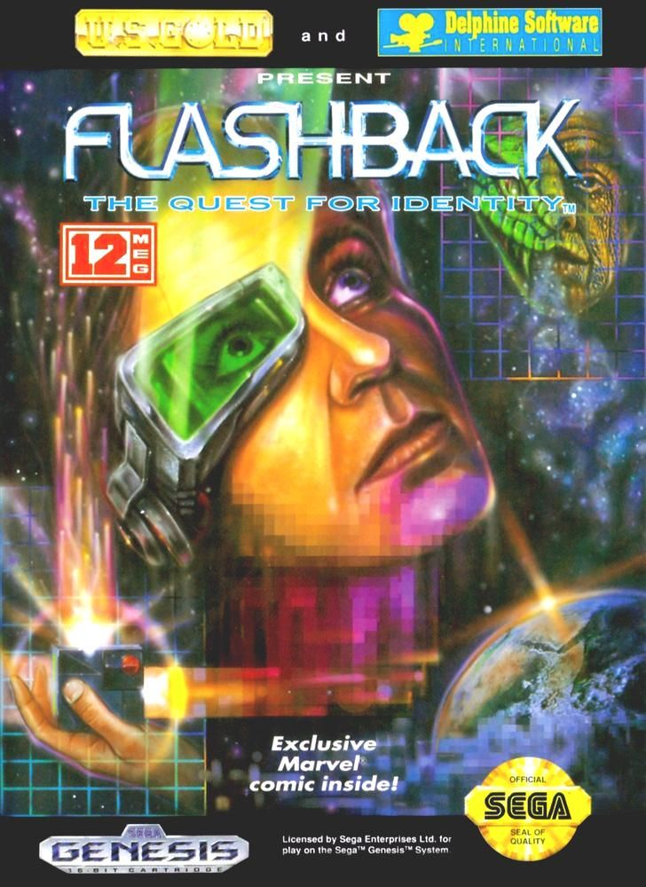 flashback: quest for identity (#sega genesis) from $3.99 | Video ...