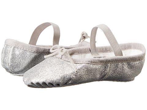 b90f72830 Bloch Kids Glitter Dust Ballet Slipper (Toddler/Little Kid) Silver -  Zappos.com Free Shipping BOTH Ways