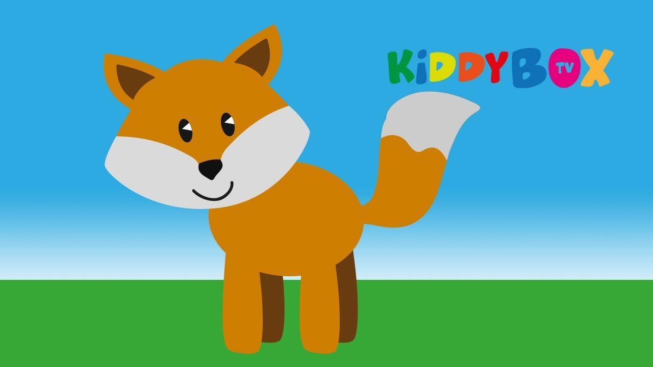 Fuchs du hast die Gans gestohlen - Kinderlieder (KIDDYBOX.TV)
