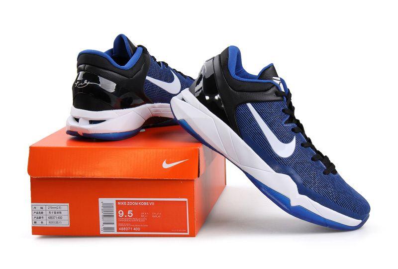 Nike Zoom Kobe 7 VII Blue White Black   Nike Zoom Kobe 7 VII