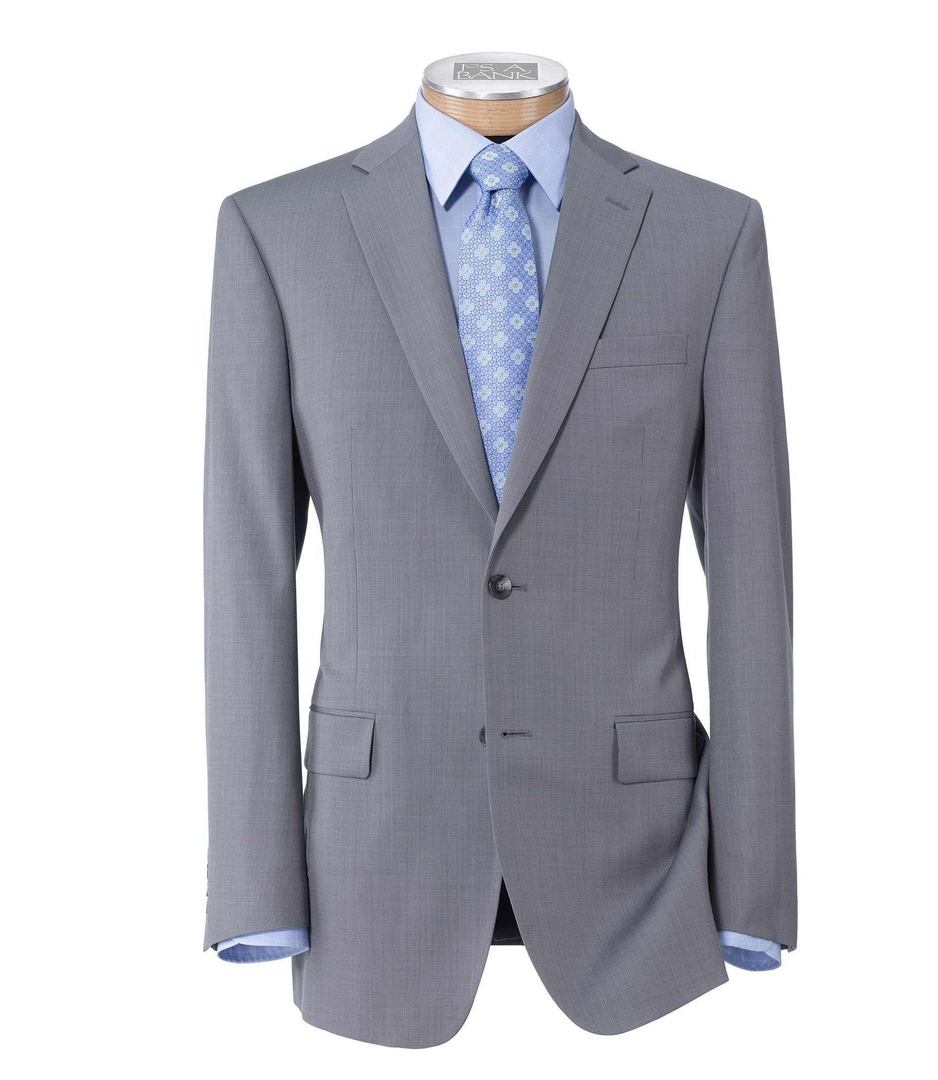 1af0b9c7b5b9 Traveler Tailored Fit 2 Button Plain Front Suit - Big   Tall CLEARANCE