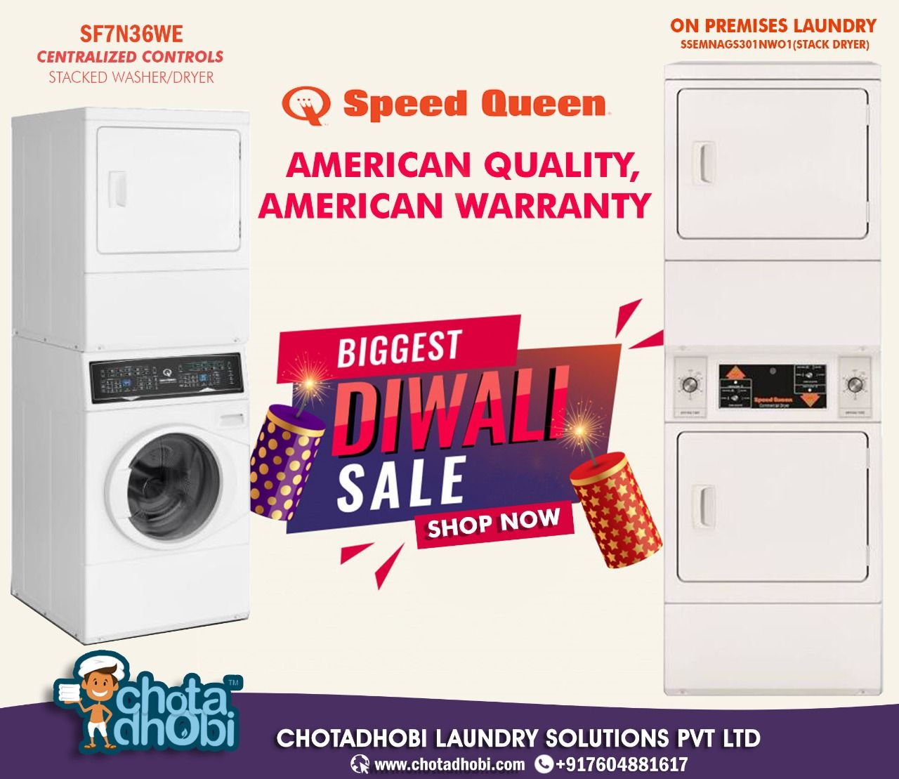 Speed Queen Asia Supplier For Vended Multi Housing Home And