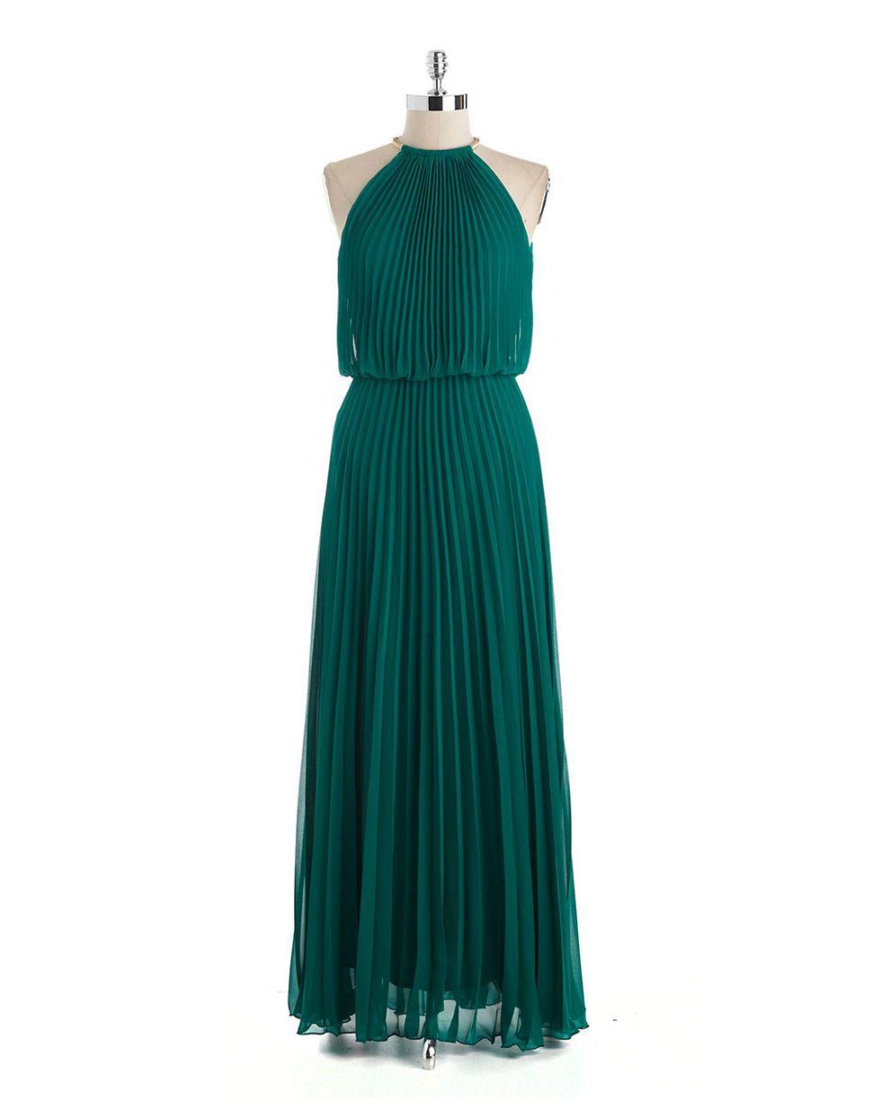 5f1b48c03abca Pin by Shop Gal on Fashion & Style | Chiffon gown, Emerald ...